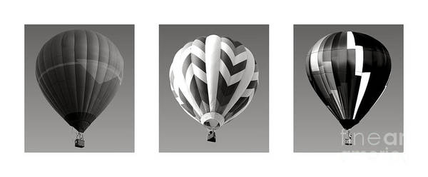 Photograph - The Art Of Ballooning Two by Olivier Le Queinec