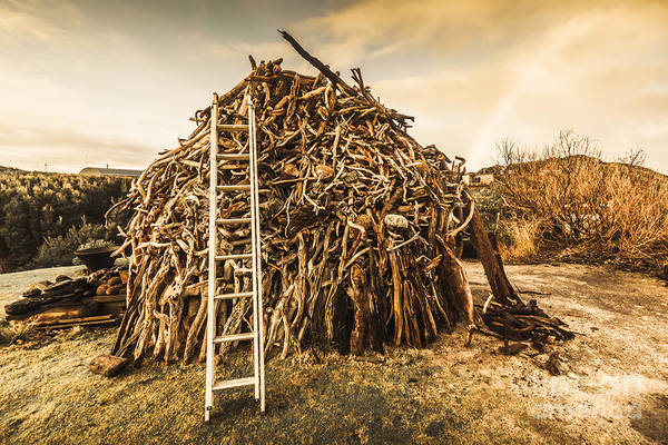 Ladders Photograph - The Art Of Bonfires by Jorgo Photography - Wall Art Gallery