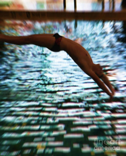 Photograph - The Art Of Diving 5 by Jeff Breiman