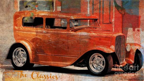 Wall Art - Photograph - The Art Of The Classic Car by Bobbee Rickard