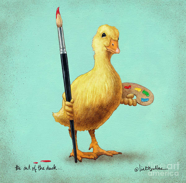 Painting - The Art Of The Duck... by Will Bullas