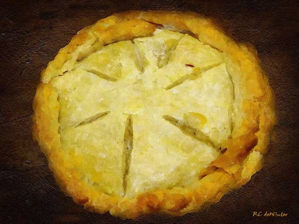 Painting - The Art Of The Pie by RC DeWinter
