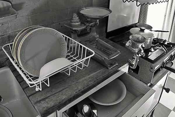Idealistic Wall Art - Photograph - The Art Of Welfare. Kitchen Cupboards. by Elena Perelman