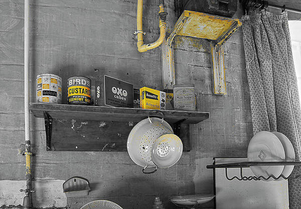 Idealistic Wall Art - Photograph - The Art Of Welfare. Kitchen For All. by Elena Perelman