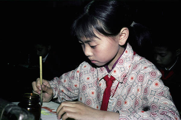 Pioneer School Photograph - The Art Student by Cornelis Verwaal