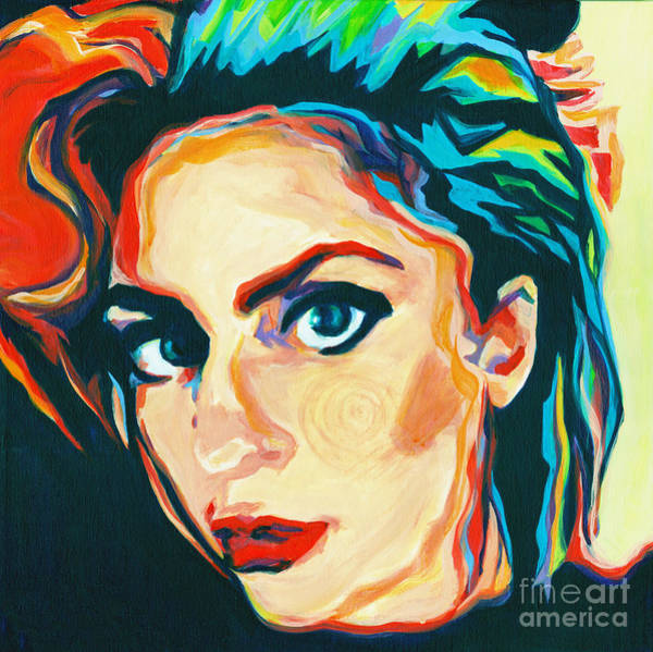 Painting - The Artist- Lady Gaga by Tanya Filichkin