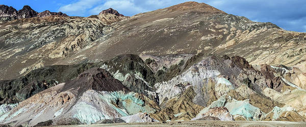 Photograph - The Artists Palette Death Valley National Park by Michael Rogers