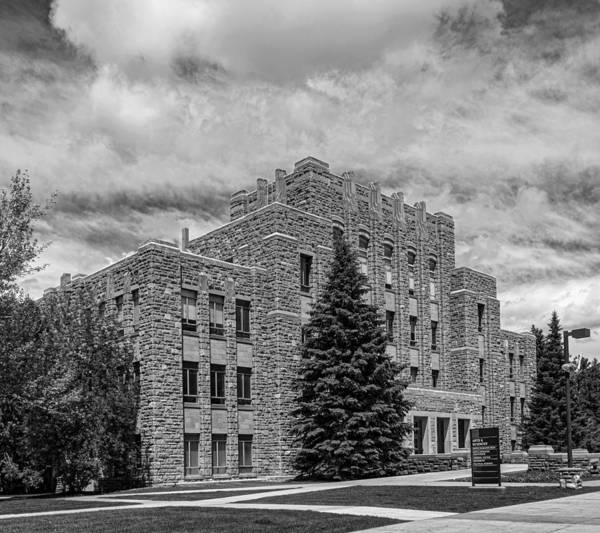 Laramie Photograph - The Arts And Sciences Building - University Of Wyoming by Mountain Dreams