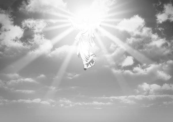 Christianity Digital Art - The Ascension And Resurrection by Allan Swart