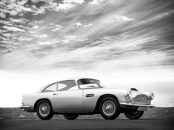 Wall Art - Photograph - The Aston Db4 1959 by Mark Rogan