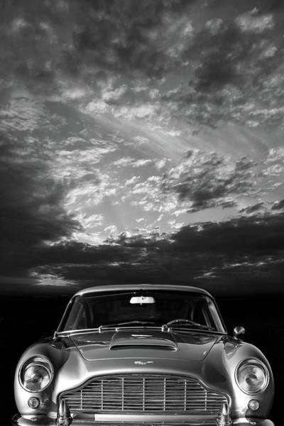 Db5 Wall Art - Photograph - The Aston Db5 by Mark Rogan