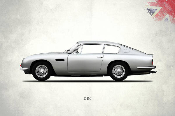 Wall Art - Photograph - The Aston Db6 by Mark Rogan