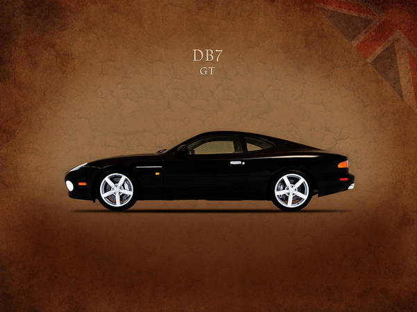 Db5 Wall Art - Photograph - The Aston Martin Db7 by Mark Rogan