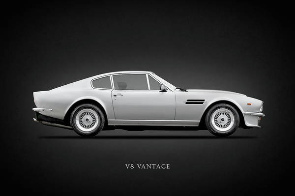 V8 Engine Wall Art - Photograph - The Aston V8 Vantage by Mark Rogan