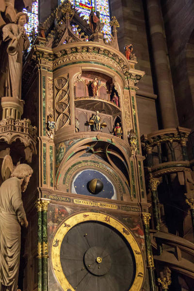 Wall Art - Photograph - The Astronomical Clock Of Strasbourg by Teresa Mucha
