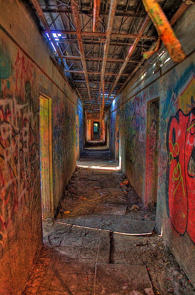 Wall Art - Photograph - The Asylum by William Wetmore