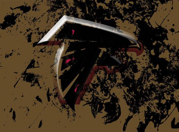 Atlanta Falcons Mixed Media - The Atlanta Falcons 1a by Brian Reaves