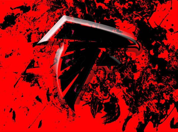 Atlanta Falcons Mixed Media - The Atlanta Falcons 1c by Brian Reaves