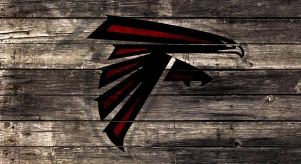 Atlanta Falcons Mixed Media - The Atlanta Falcons 2w by Brian Reaves
