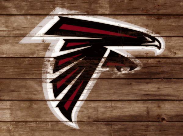 Atlanta Falcons Mixed Media - The Atlanta Falcons 3b by Brian Reaves