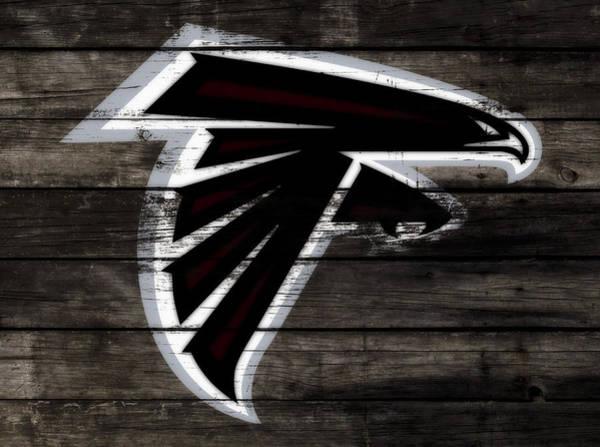 Atlanta Falcons Mixed Media - The Atlanta Falcons 3c by Brian Reaves