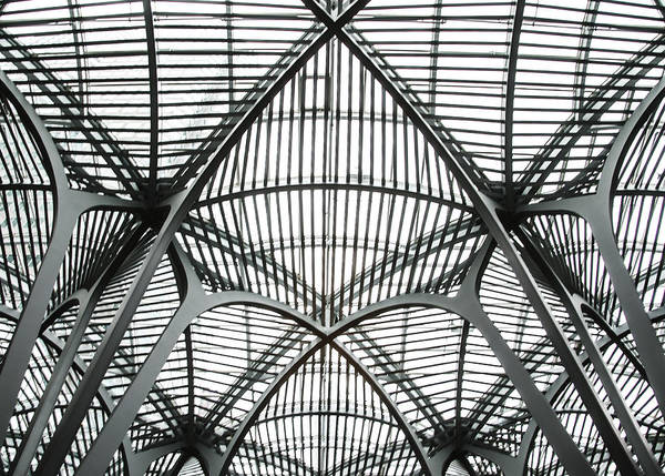Photograph - The Atrium At Brookfield Place - Toronto  Ontario Canada by Bill Cannon