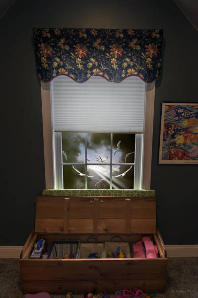 Wall Art - Photograph - The Attic Window by Brian Wallace