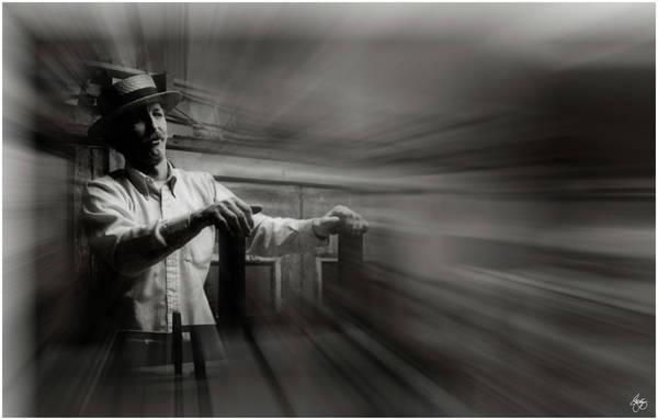 Photograph - The Auctioneer by Wayne King