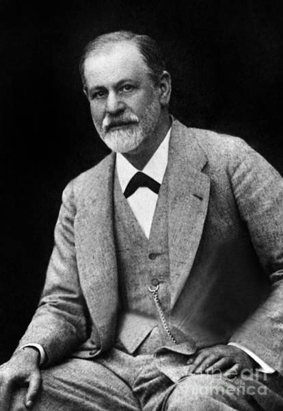 Wall Art - Photograph - The Austrian Psychoanalyst Sigmund Freud, Circa 1917 by French School