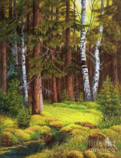 Salo Wall Art - Painting - The Autumn Is Coming by Veikko Suikkanen