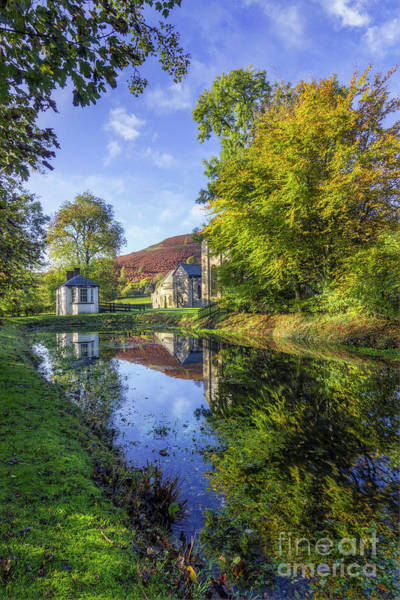 Photograph - The Autumn Pond by Ian Mitchell