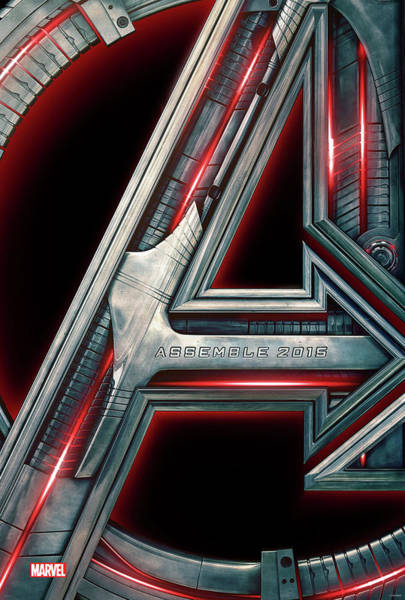 Civil War Digital Art - The Avengers Age Of Ultron 2015 by Geek N Rock