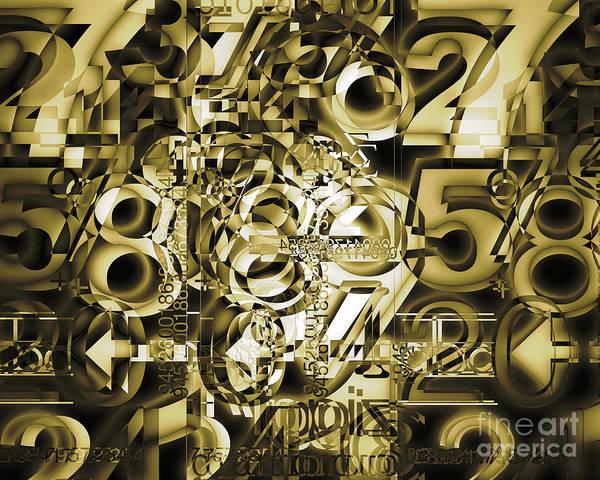 Digital Art - The Average Within by Edmund Nagele