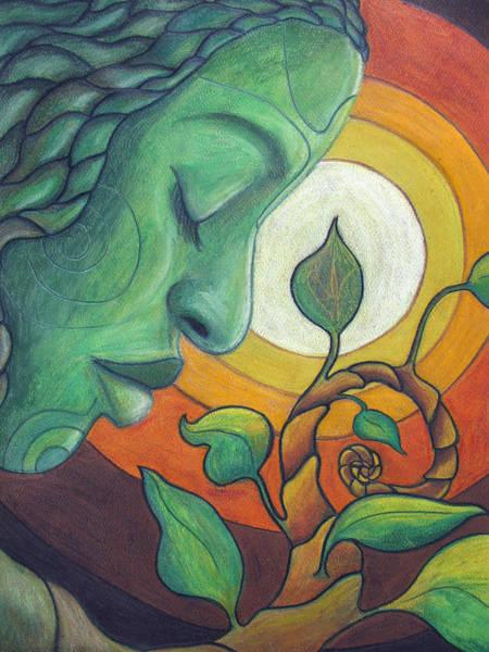 Healing Drawing - The Awakening by Kimberly Kirk