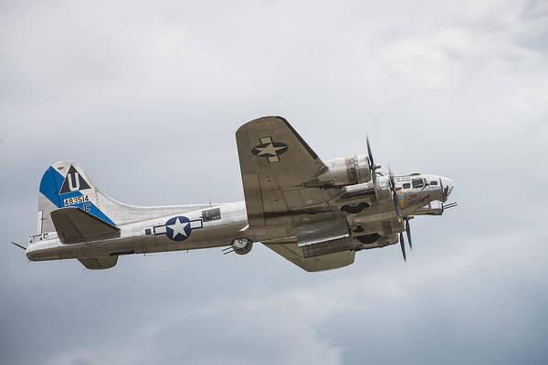 Lethbridge Photograph - The B-17 Bomber by Bill Cubitt