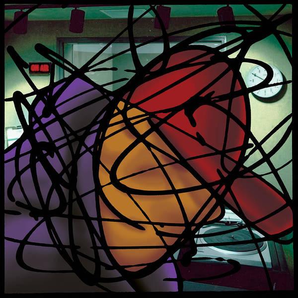 Painting - The B-boy As Dj by Ismael Cavazos