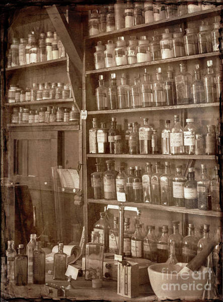 Photograph - The Back Room In Sepia by Russell Brown
