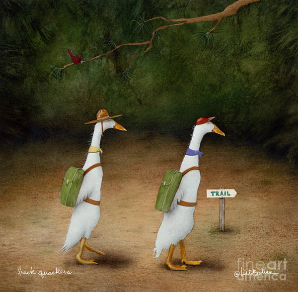 Painting - The Backquackers... by Will Bullas