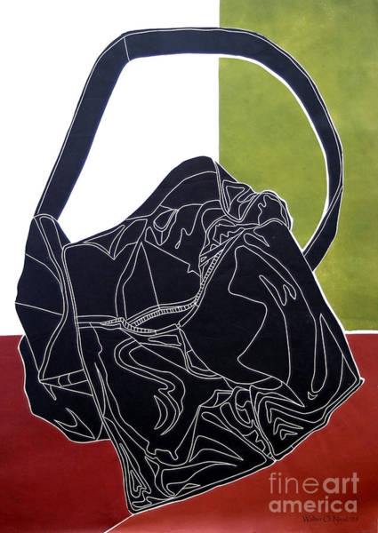 Digital Art - The Bag by Walter Neal