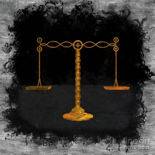 Balance Painting - The Balance Of Scales by Pierre Blanchard