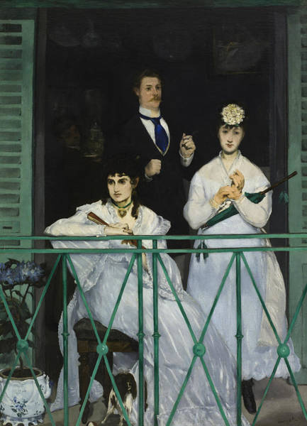 Painting - The Balcony by Edouard Manet