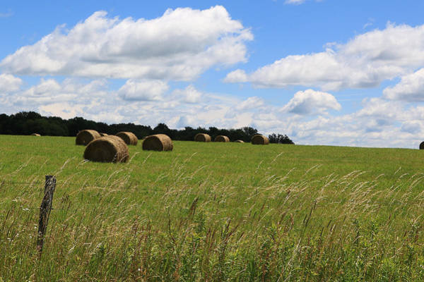 Photograph - The Bales Of Summer 2 by Rick Morgan
