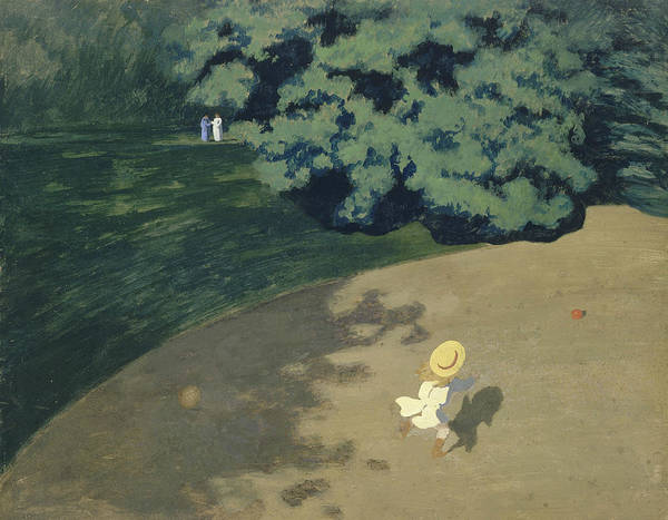 Painting - The Ball by Felix Vallotton