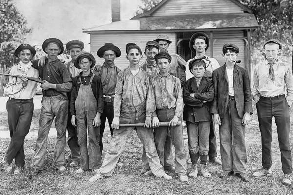 Photograph - The Ball Team by Anthony Murphy