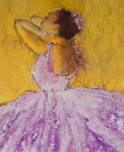 Wall Art - Painting - The Ballet Dancer by David Patterson