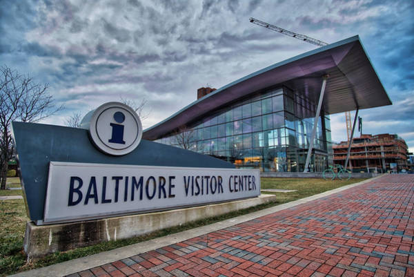 Photograph - The Baltimore Visitors Center by Mark Dodd
