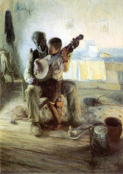 For Sale Painting - The Banjo Lesson by Henry Ossawa Tanner