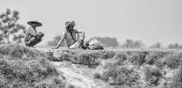 Photograph - The Banks Of The Lower Ganges by Chris Cousins