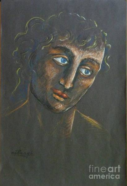 John Art Print by Ushangi Kumelashvili