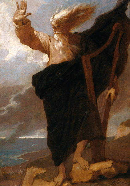 Painting - The Bard by Benjamin West